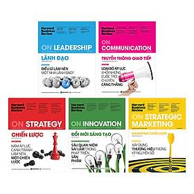 Combo Bộ HBR On Point (ON STRATEGY - Chiến Lược + ON LEADERSHIP - Lãnh Đạo + ON INNOVATION - Đổi Mới Sáng Tạo + ON COMMUNICATION - Truyền Thống Giao Tiếp + ON STRATEGIC MARKETING -Marketing Chiến Lược)(5 Cuốn)