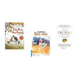 Combo 3 cuốn sách: Kiên Nhẫn Và Yêu Thương + Đánh Thức Ban Mai + Luật Trí Não Dành Cho Trẻ