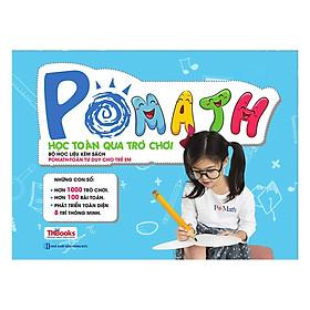 Bộ Học Liệu Kèm Sách POMath - Học Toán Qua Trò Chơi (Tặng kèm Bookmark PL)