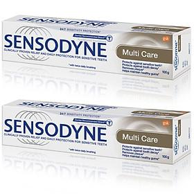 Combo 2 Kem đánh răng Sensodyne Multi care - Bảo vệ toàn diện