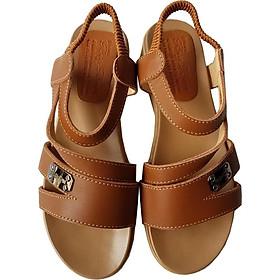 Giày Sandal Nữ BIGGBEN Da Bò Thật SDN42