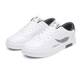 Giày Nam Thể Thao Sneaker Vải Dệt Cực Chất Đế Cao Su Nguyên Khối Siêu Êm Họa Tiết Lông Vũ CTS-GN026-8