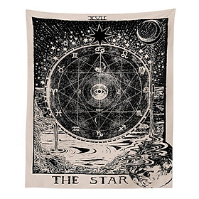 Divination Astrology Pattern Hanging Tapestry for Wall Decor