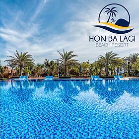 Hòn Bà Lagi Beach Resort 3* - Trọn Gói Ăn 03 Bữa, Hồ Bơi Muối Khoáng, Bãi Biển Riêng, Áp Dụng Chủ Nhật Đến Thứ 5
