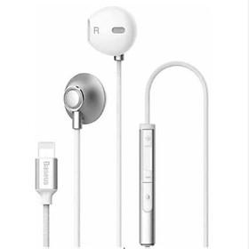 Tai nghe Lightning cho iPhone/iPad không cần đầu chuyển 3.5 Baseus P06 - Hàng chính hãng