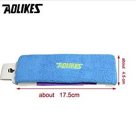 Combo 1 băng trán và 1 đôi băng cổ tay AOLIKES YE-2108-0230 thấm mồ hôi cao cấp khi chơi thể thao - Hàng Chính Hãng-3