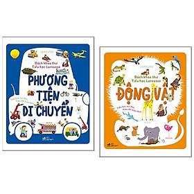Combo 2 cuốn Bách Khoa Thư Tiểu Học Larousse: Phương Tiện Di Chuyển + Động Vật / Bộ sách kiến thức bách khoa cho trẻ