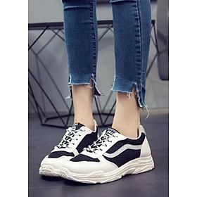 Giày Thể Thao Nữ Yamet Y5-56TD - Trắng Phối Đen