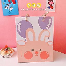 Túi quà sinh nhật họa tiết hình gấu nguồn hàng giá rẻ