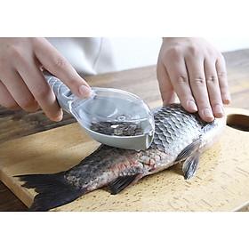 Dụng Cụ Cạo Vảy Cá | Dao 2 Lưỡi Nhựa Đánh Vẩy cá | Dụng Cụ Nhà Bếp Thông Minh Cho Phái Đẹp | Đồ Dùng Nhà Bếp Phong Cách Hàn Quốc | 2 màu Trắng và Xanh Lá Đậm