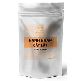 Hạnh Nhân cắt lát DK Harvest (nhập khẩu) - tự nhiên, không tẩm ướp, rất tốt cho trí não và tim mạch.