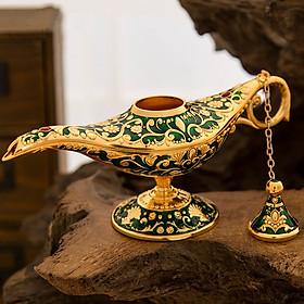 Đèn trang trí Aladin thần thoại trong tập truyện nghìn lẻ một đêm cầu nguyện cho những điều ước của gia chủ thành sự thật mang lại may mắn tài lộc và mở ra hướng đi đúng đắn cho cuộc đời và sự nghiệp
