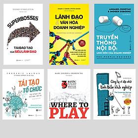 SÁCH -Where to play, Lãnh đạo & Văn hóa,Truyền thông nội bộ, Tái tạo tổ chức, Công ty vĩ đại, SUPERBOSSES (Bộ)