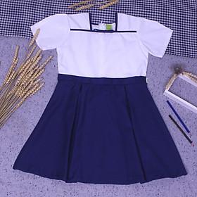 Đầm học sinh nữ cổ hải quân big size jadiny GDP011