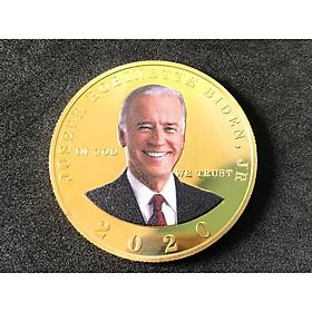 Xu lưu niệm Biden in màu, dùng để sưu tầm, trang trí bàn sách, bàn làm việc, làm quà tặng thú vị - TMT Collection - SP005092