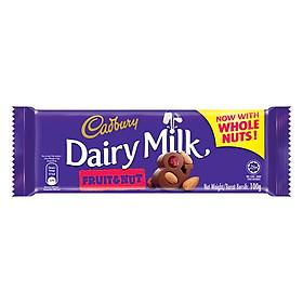 Sô-Cô-La Trái Cây Và Hạt Cadbury Dairy Milk (100g)