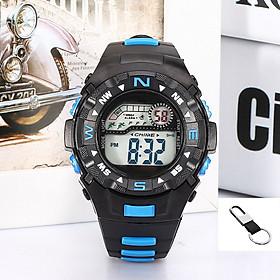 Đồng hồ thể thao trẻ em_ Tặng móc đeo khóa