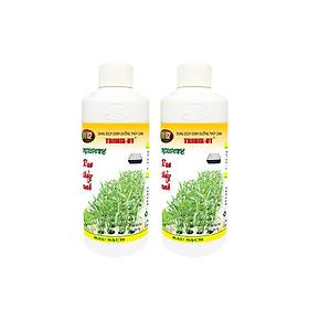 Combo 2 chai dinh dưỡng thủy canh 500ml Trimix-DT trồng rau sạch (chuyên dùng rau ăn lá) - Hydroponic nutrients