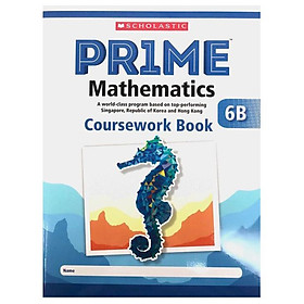 6B Scholastic Pr1Me Mathematics Coursework Book