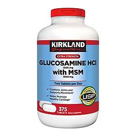 Thực phẩm bảo vệ sức khỏe KIRKLAND Signature Glucosamine With MSM