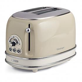 Nướng bánh mỳ 2 khay  (Màu kem) Ariete  MOD. 0155/13 - Hàng chính hãng