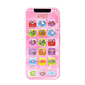 Tailored Baby Toys Cellphone Mobile Phone Educational Learning Machine Phone Toy Children
