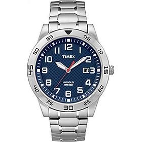 Timex Men's TW2P615009J Main Street Sport Silver-Tone Bracelet Watch