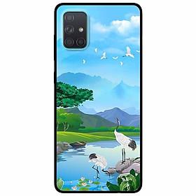 Ốp lưng dành cho Samsung A51 mẫu Sáng Trong Lành