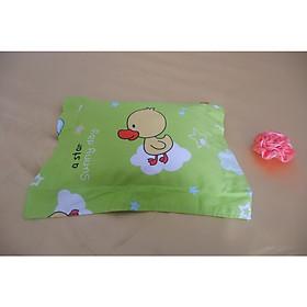 Gối trẻ em cao su nhuyễn thiên nhiên 100% , kích thước 20*27cm (tặng áo gối vải cotton)