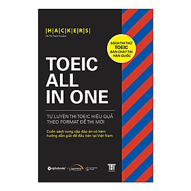 TOEIC ALL-IN-ONE (Tặng Notebook tự thiết kế)