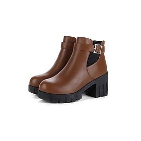 Giày Boot nữ thời trang 095BN