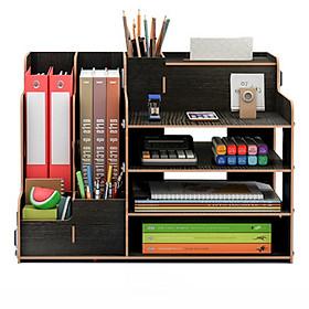 Kệ để đồ văn phòng gỗ nhiều ngăn (VP-02)