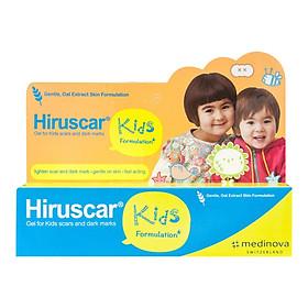 Gel Cải Thiện Sẹo Và Vết Thâm Ngứa Trẻ Em Hiruscar Kids 10G