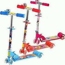 Xe trượt ba bánh Scooter cho trẻ em tặng kèm thước đo chiều cao cho bé