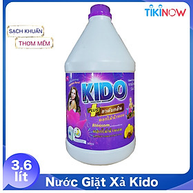 Nước Giặt Xả KIDO Công Nghệ Thái lan - Phù Hợp Giặt Tay - Giặt Máy ,Cửa Trên-Cửa Ngang
