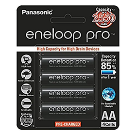 Pin Sạc AA Eneloop Pro 2550 mah