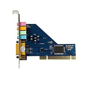 Card Âm Thanh 4 Cổng PCI Chip 8738 Dành Cho Win 7 (64 bit)