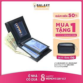 Ví Nam Bóp Nam Da Bò Thật Cao Cấp Galaxy Store GVN13 - Hàng Chính Hãng