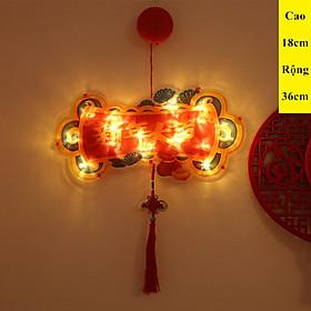 Đèn Trang Trí Tết Treo Tường Gồm 6 Mẫu Khác Nhau Sử Dụng Pin Thích Hợp Trang Trí Trong Nha