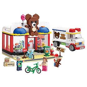 Đồ chơi lắp ghép - Chính hãng Hàn Quốc - Cửa Hàng Đồ Chơi HS33915 -  gồm 554 mảnh ghép dành cho bé 8 tuổi trở lên