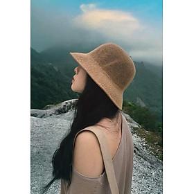 Nón Cói, Mũ Cói Mềm Vành Nhỏ Thời Trang Nữ Hàn Quốc