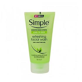 Sữa Rửa Mặt Dạng Gel Simple Refreshing (150ml) [ Được Mask 3W Clinic ]