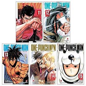 Combo One-Punch Man: Tập 11 + Tập 12 + Tập 13 + Tập 14 + Tập 15 (Tái Bản 2019) (Bộ 5 Tập)