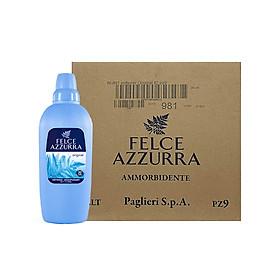 Thùng nước xả vải hương nước hoa cổ điển Ý hương hoắc hương và cỏ sả Felce Azzurra 2L x 9 chai