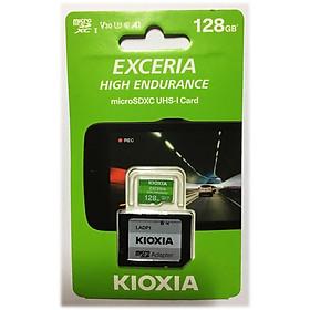 Thẻ nhớ MicroSD KIOXIA EXCERIA HIGH ENDURANCE - 128GB (Có Adapter) - Hàng Nhập Khẩu