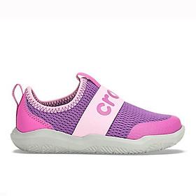 Giày Thời Trang Trẻ Em Bé Gái Crocs 205362-57L