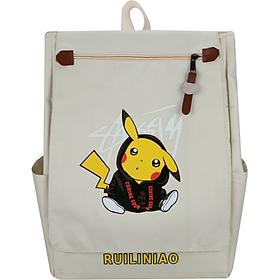 Balo đi học nữ hình Pikachu cực dễ thương cho các bạn nữ - Ohazo! BL133