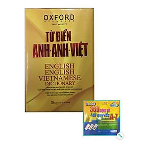 Từ Điển Oxford Anh Anh Việt 350.000 Từ hộp vàng cứng( Tăng Kèm hộp Flashcard 360 Động Từ Bất Quy Tắc Trong Tiếng Anh Từ A - Z )