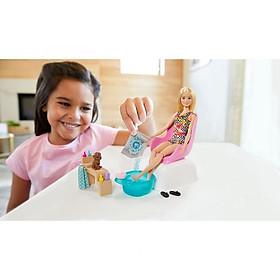 Đồ chơi búp bê Thư giãn ở spa cùng Barbie BARBIE GHN07