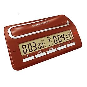 Đồng hồ thi đấu cờ PS-393 (39 chế độ chỉnh thời gian) màu Nâu